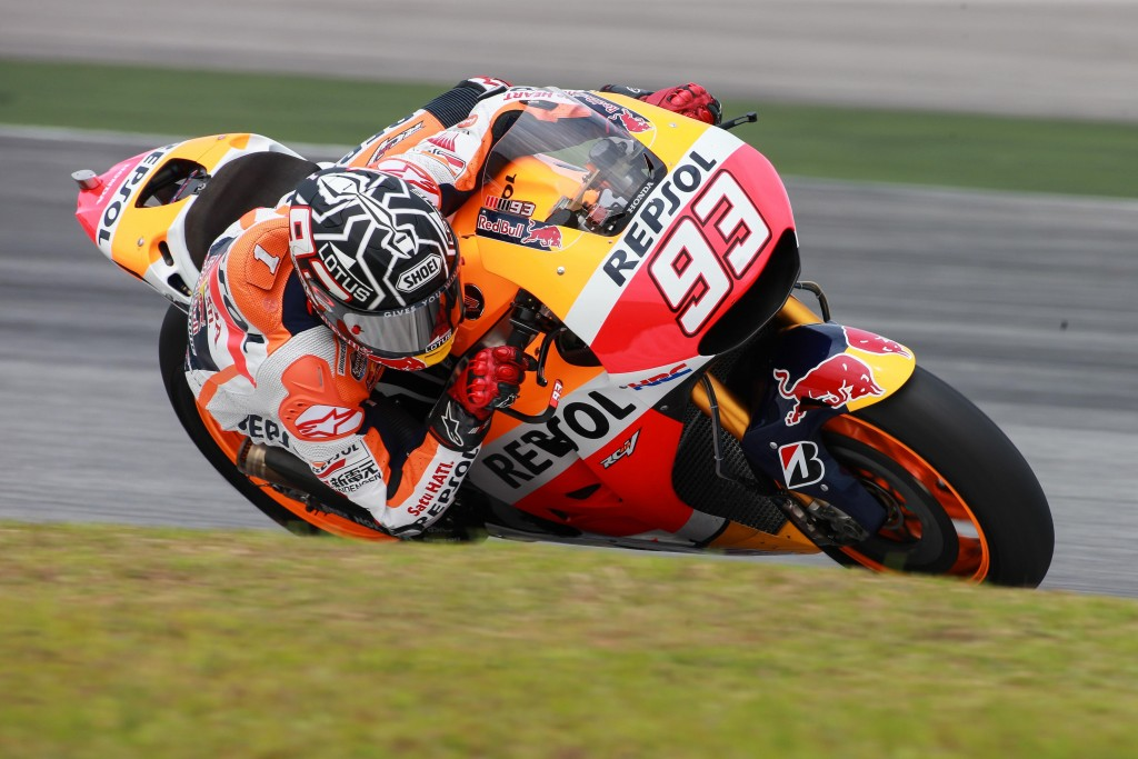 2016 MotoGP Sepang Test Day 1