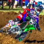 Eli Tomac at the sixth round of 2017 Lucas Oil Pro Championship